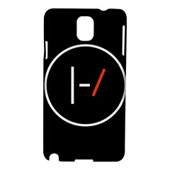 Twenty One Pilots Band Logo Samsung Galaxy Note 3 N9005 Hardshell Case by Onesevenart