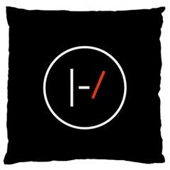 Twenty One Pilots Band Logo Standard Flano Cushion Case (one Side) by Onesevenart