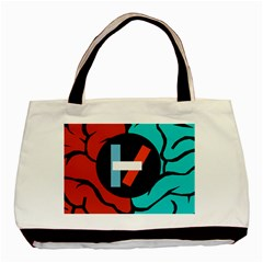 Twenty One Pilots  Basic Tote Bag (two Sides) by Onesevenart