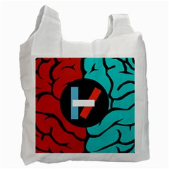 Twenty One Pilots  Recycle Bag (one Side) by Onesevenart