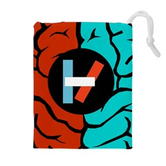 Twenty One Pilots  Drawstring Pouches (extra Large) by Onesevenart