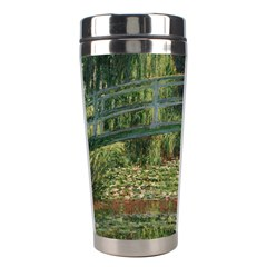 The Japanese Footbridge By Claude Monet Stainless Steel Travel Tumblers by ArtMuseum