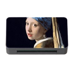 Girl With A Pearl Earring Memory Card Reader With Cf by ArtMuseum