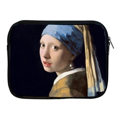 Girl With A Pearl Earring Apple Ipad 2/3/4 Zipper Cases by ArtMuseum