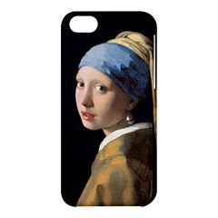 Girl With A Pearl Earring Apple Iphone 5c Hardshell Case by ArtMuseum