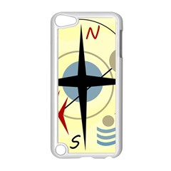 Compass 3 Apple Ipod Touch 5 Case (white) by Valentinaart