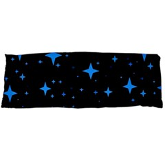 Bright Blue  Stars In Space Body Pillow Case Dakimakura (two Sides) by Costasonlineshop