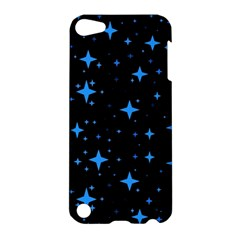 Bright Blue  Stars In Space Apple Ipod Touch 5 Hardshell Case by Costasonlineshop