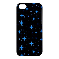 Bright Blue  Stars In Space Apple Iphone 5c Hardshell Case by Costasonlineshop