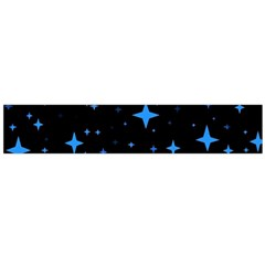 Bright Blue  Stars In Space Flano Scarf (Large) by Costasonlineshop