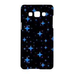 Bright Blue  Stars In Space Samsung Galaxy A5 Hardshell Case  by Costasonlineshop
