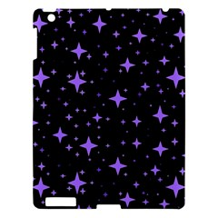 Bright Purple   Stars In Space Apple Ipad 3/4 Hardshell Case by Costasonlineshop