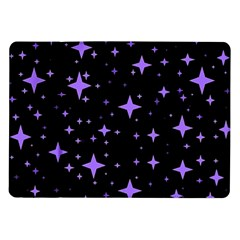 Bright Purple   Stars In Space Samsung Galaxy Tab 10 1  P7500 Flip Case by Costasonlineshop