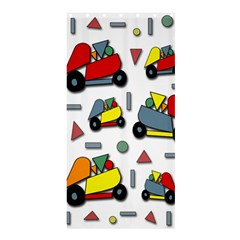 Toy cars pattern Shower Curtain 36  x 72  (Stall)  by Valentinaart
