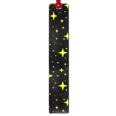 Bright Yellow   Stars In Space Large Book Marks by Costasonlineshop