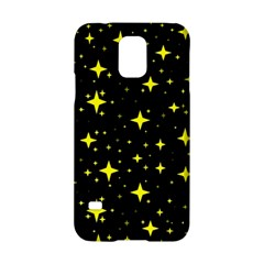 Bright Yellow   Stars In Space Samsung Galaxy S5 Hardshell Case  by Costasonlineshop