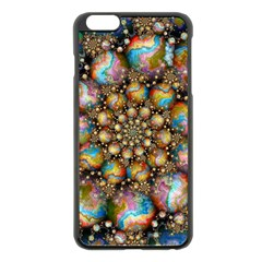 Marbled Spheres Spiral Apple Iphone 6 Plus/6s Plus Black Enamel Case by WolfepawFractals