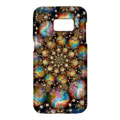 Marbled Spheres Spiral Samsung Galaxy S7 Hardshell Case