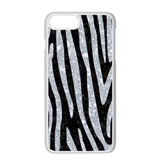 SKN4 BK-GY MARBLE (R) Apple iPhone 7 Plus White Seamless Case by trendistuff