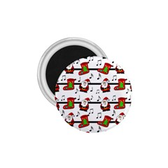 Xmas Song Pattern 1 75  Magnets by Valentinaart