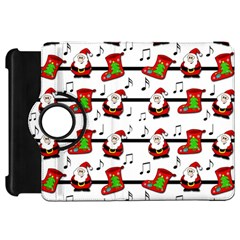 Xmas Song Pattern Kindle Fire Hd 7  by Valentinaart