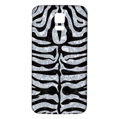 Skin2 Black Marble & Gray Marble (r) Samsung Galaxy S5 Back Case (white) by trendistuff