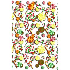 Xmas Candy Pattern 5 5  X 8 5  Notebooks by Valentinaart