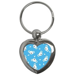 Blue Koala Key Chains (heart)  by AnjaniArt