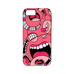 Big Mouth Worm Apple Iphone 5 Classic Hardshell Case (pc+silicone) by AnjaniArt