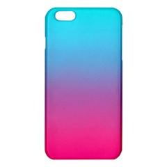 Blue Pink Purple Iphone 6 Plus/6s Plus Tpu Case by AnjaniArt