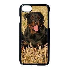 Rottweiler Group Apple iPhone 7 Seamless Case (Black) by TailWags