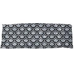Scales2 Black Marble & Gray Marble (r) Body Pillow Case (dakimakura) by trendistuff