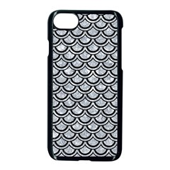 SCA2 BK-GY MARBLE (R) Apple iPhone 7 Seamless Case (Black) by trendistuff