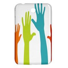Hand Coloor Samsung Galaxy Tab 3 (7 ) P3200 Hardshell Case  by AnjaniArt