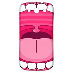 Original Big Mouth Samsung Galaxy S3 S Iii Classic Hardshell Back Case by AnjaniArt