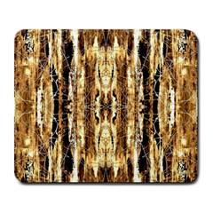 Beige Brown Back Wood Design Large Mousepads by Costasonlineshop