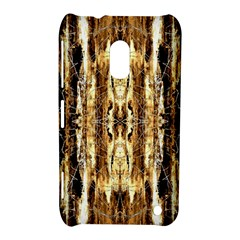 Beige Brown Back Wood Design Nokia Lumia 620 by Costasonlineshop
