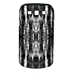 Black White Taditional Pattern  Samsung Galaxy S Iii Classic Hardshell Case (pc+silicone) by Costasonlineshop