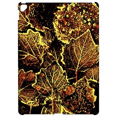 Leaves In Morning Dew,yellow Brown,red, Apple Ipad Pro 12 9   Hardshell Case by Costasonlineshop