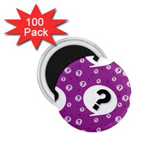 Question Mark Sign 1 75  Magnets (100 Pack)  by AnjaniArt