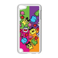 Cartoon Pattern Apple Ipod Touch 5 Case (white) by Onesevenart