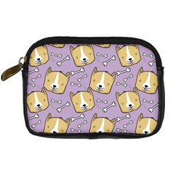 Corgi Pattern Digital Camera Cases by Onesevenart