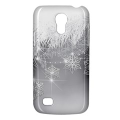 New Year Holiday Snowflakes Tree Branches Galaxy S4 Mini by Onesevenart