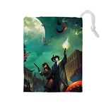 Arkham Horror LCG token bag - Drawstring Pouch (Large)