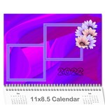 Colorful calendar 2017 - Wall Calendar 11  x 8.5  (12-Months)