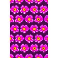 Pink Flower Pattern On Wine Red 5 5  X 8 5  Notebooks by Costasonlineshop
