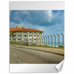 Eclectic Style Building Natal Brazil Canvas 12  X 16   by dflcprints