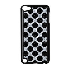 Circles2 Black Marble & Gray Marble (r) Apple Ipod Touch 5 Case (black) by trendistuff