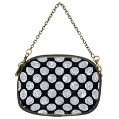 CIR2 BK-GY MARBLE Chain Purses (One Side)  by trendistuff