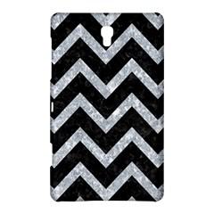 Chevron9 Black Marble & Gray Marble Samsung Galaxy Tab S (8 4 ) Hardshell Case  by trendistuff